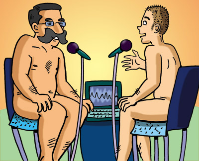 nudist naturist interview