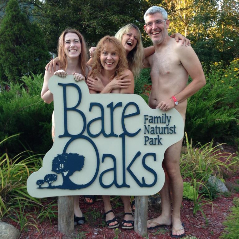 Nude stand-up comedy at Bare Oaks in 2013