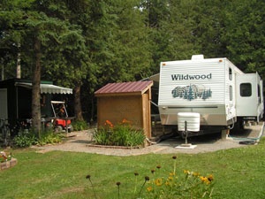 2005 Wildwood Park Model Trailer on Site 239B