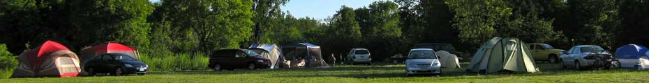 Camping rules and regulations