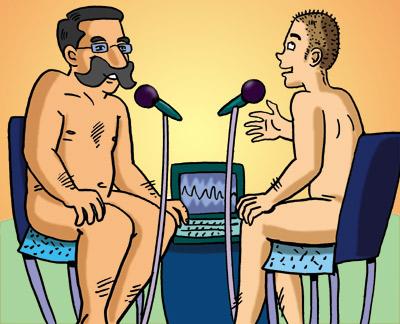 nudist naturist interview