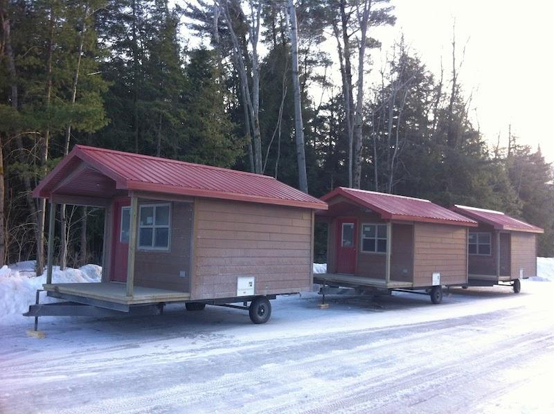 Bare Oaks Family Naturist Park cabins