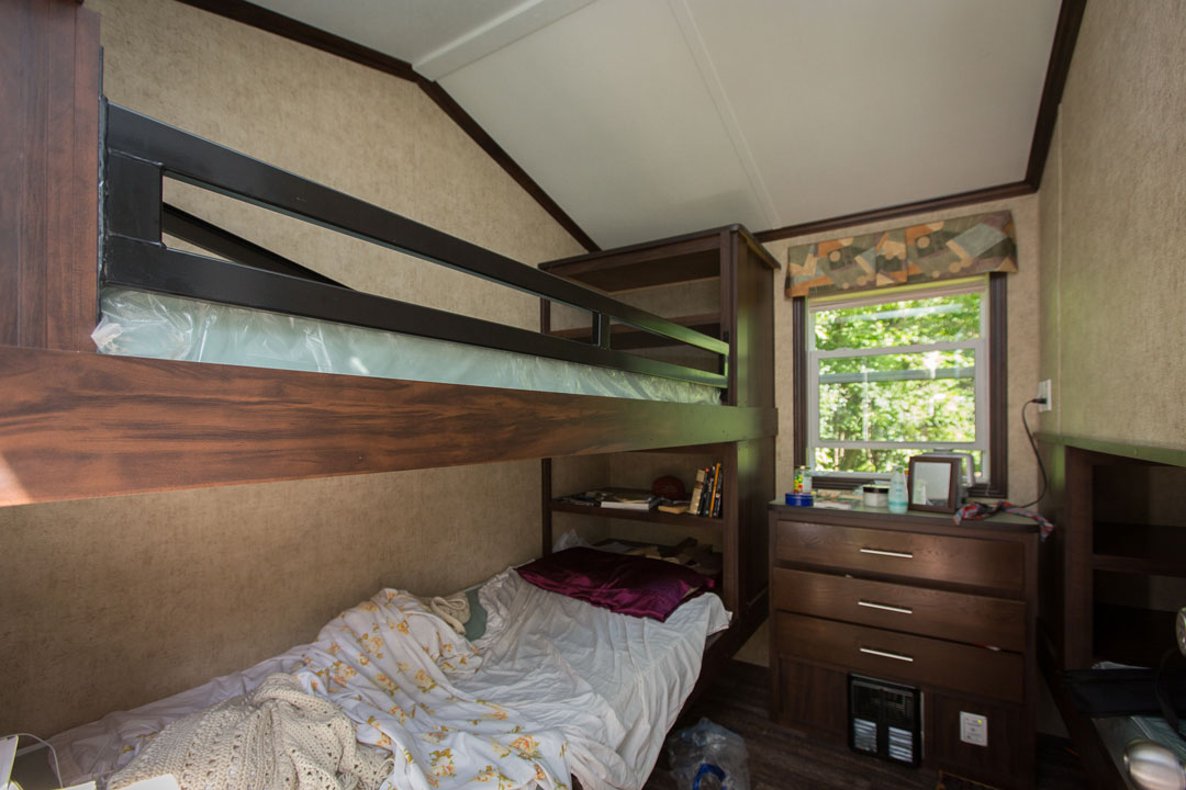 Dorm room for team members