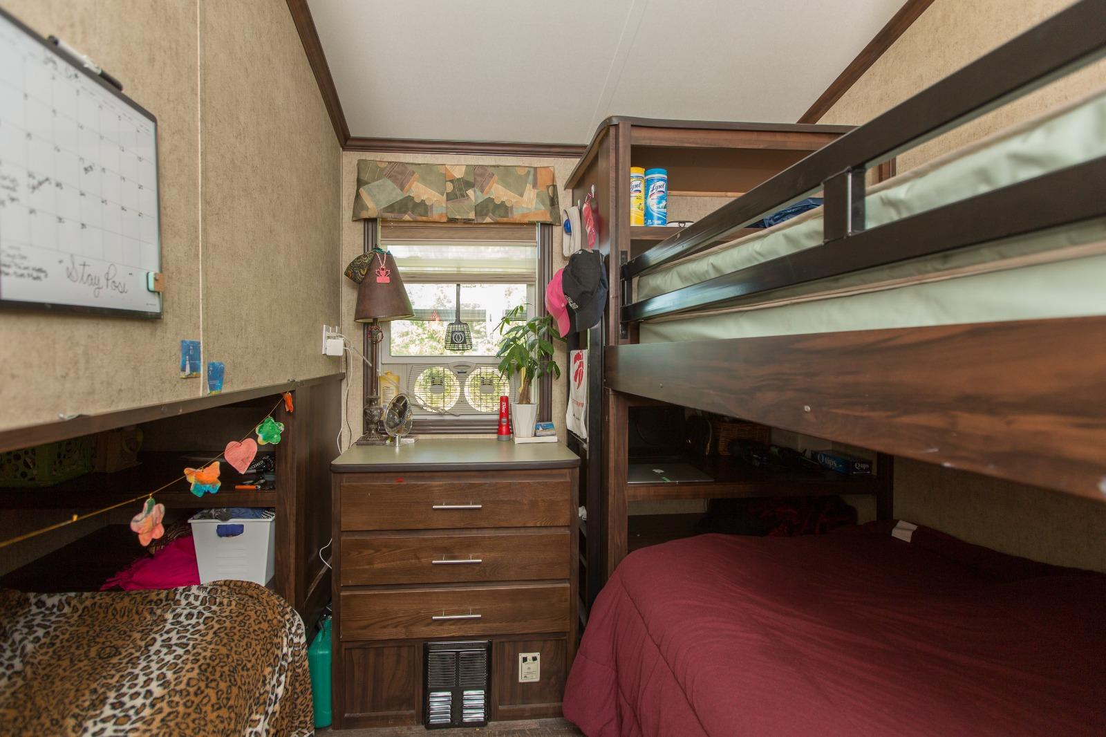 Staff accommodations - room interior