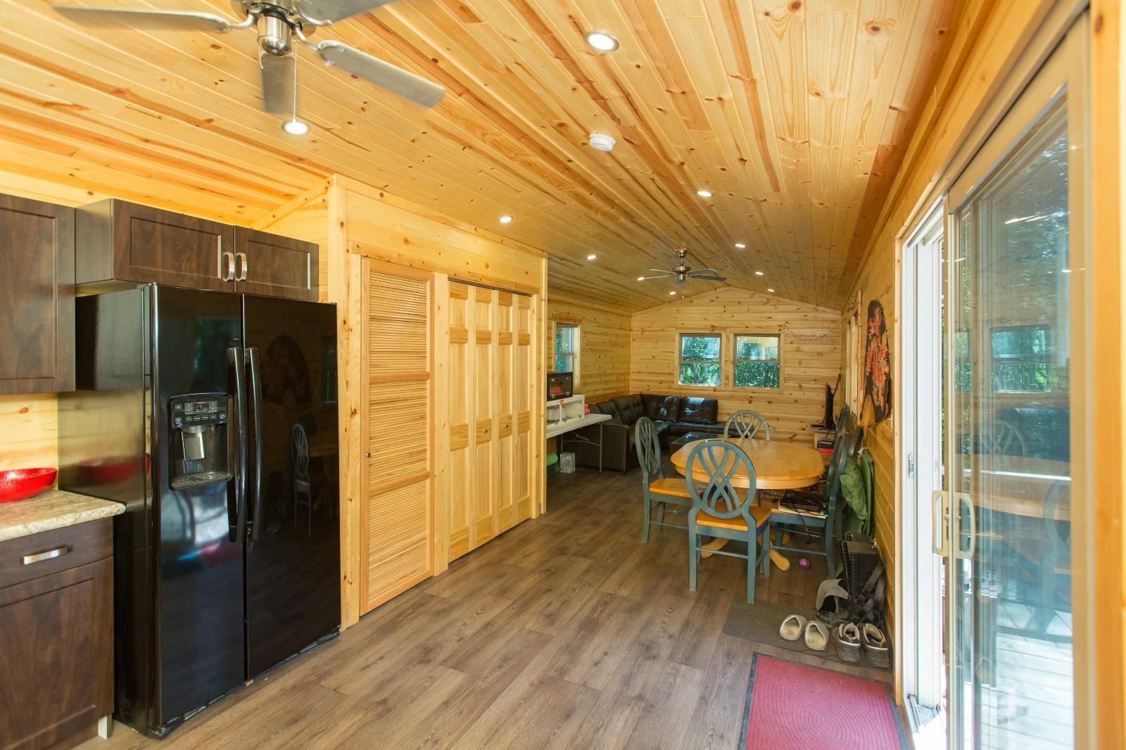 Staff accommodations - lounge interior