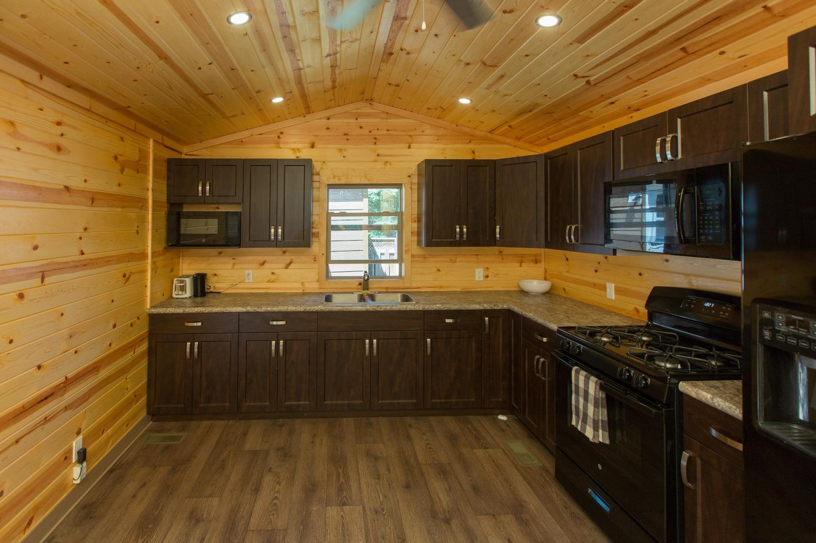 Staff accommodations - kitchen interior