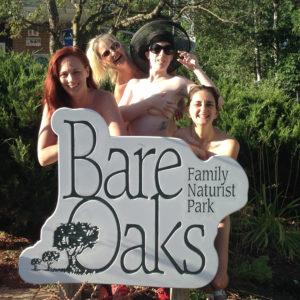 naturist stand-up comics at Bare Oaks