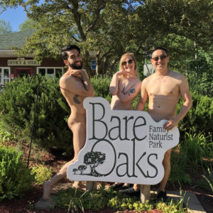 nude comics at Bare Oaks