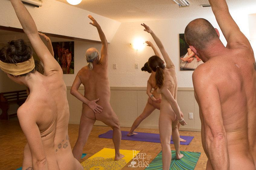 Naturist Yoga Online!